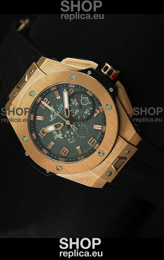 Swiss Engineered Hublot Big Bang Ferrari Magic Gold