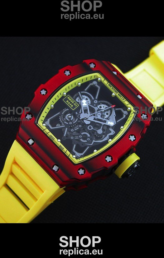 Swiss Engineered Richard Mille Rm35 01 One Piece Red