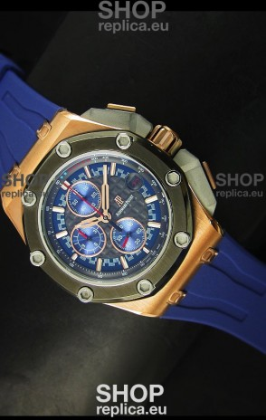 Audemars Piguet Royal Oak Offshore Michael Schumacher Rose Gold Ceramic Bezel