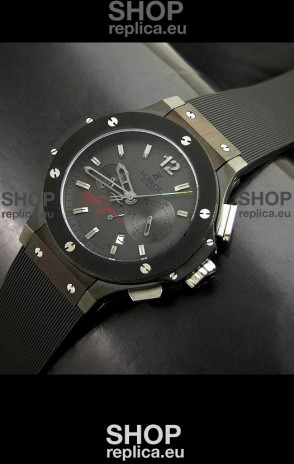 Instituto Aryton Senna Japanese Replica Watch in Black