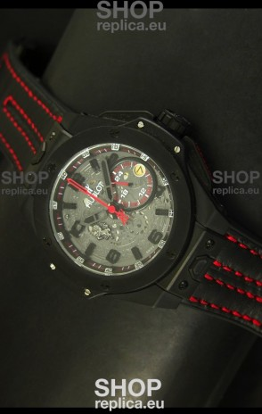 Hublot Big Bang Ferrari Swiss Quartz Movement Watch in PVD Case