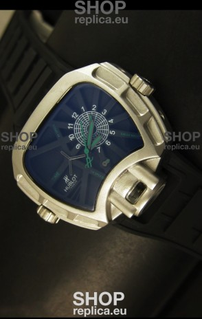 Hublot Big Bang MP 02 Key of Time Edition Japanese Watch in Stainless Steel