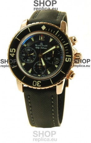 Blancpain Fifty Fathoms Flyback Chronograph Swiss Watch