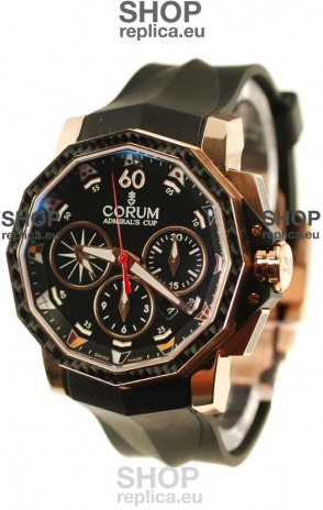 Corum Admiral Cup Challenge Swiss Replica Watch in Black