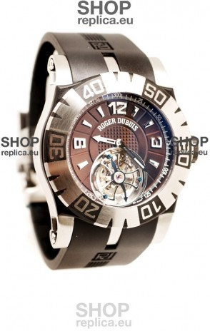 Roger Dubuis Tourbidiver Tourbillon Swiss Replica Watch