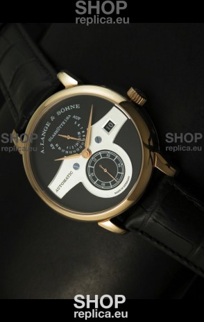 A.Lange & Sohne Zeitwerk Edition Japanese Watch Black Dial