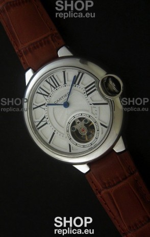 Cartier Ballon de Japanese Replica Watch in White Dial
