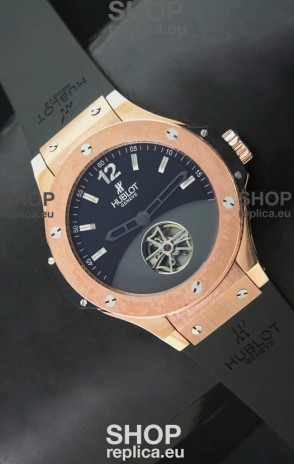 Hublot Big Bang Solo Bang Japanese Replica Rose Gold Watch