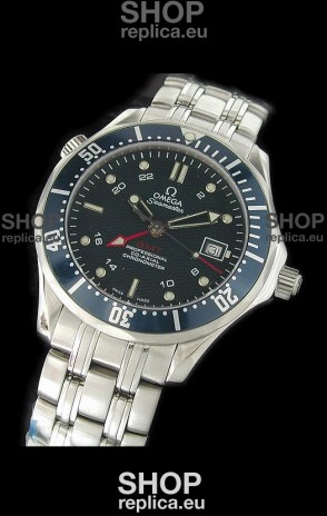 Omega Seamaster GMT Professional Watch in Stainless Steel