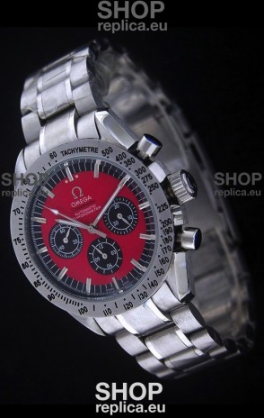 Omega Speedmaster Racing Michael Schumacher Edition Watch in Red Dial