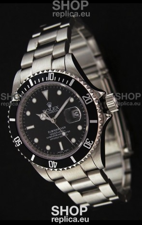 Rolex Submariner Swiss Replica Watch Regular Bezel - 1:1 Mirror Replica Watch