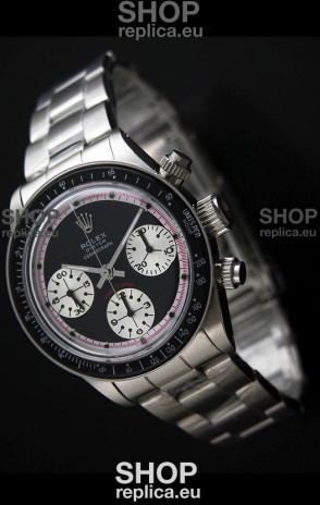 Rolex Oyster Cosmograph Swiss Replica Watch in Black Dial