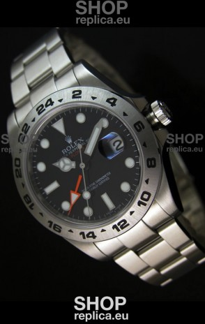 Rolex Replica Explorer II Swiss Replica Watch - SuperLuminous Hour Markers 42MM