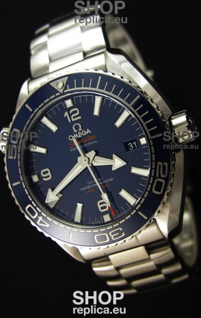 Omega Seamaster Planet Ocean 600M Blue Dial 43.5MM Updated Swiss 1:1 Edition Watch