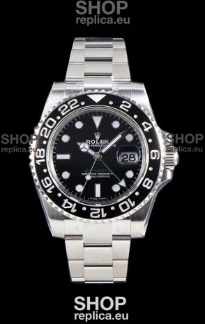 Rolex GMT Master II 116710LN Ceramic Bezel Cal.3186 Movement Swiss Replica - Ultimate 904L Steel Watch