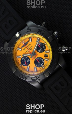Breitling Chronomat B01 Blacksteel Swiss Replica Watch 1:1 Mirror Ultimate Replica