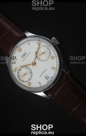IWC IW500704 Portugieser Swiss 1:1 Mirror Replica Watch White Dial - Updated 2016 Version