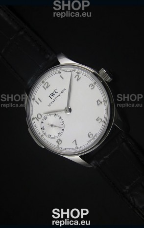 IWC Portuguese Handwind Ref# IW5242 Swiss 1:1 Mirror White Dial Watch