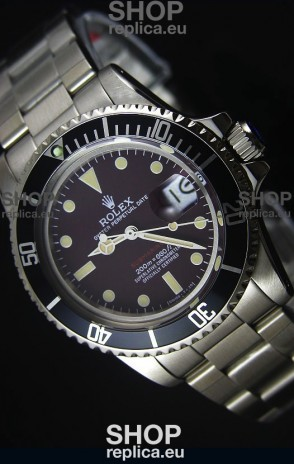 STEELMOVEMENT - Rolex Submariner 1680 Vintage Edition Coffee Dial Japanese Movement Watch