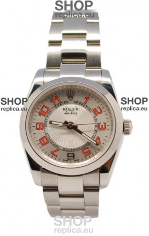 Rolex Oyester Perpetual Air King Swiss Replica Watch in Metalic Dial