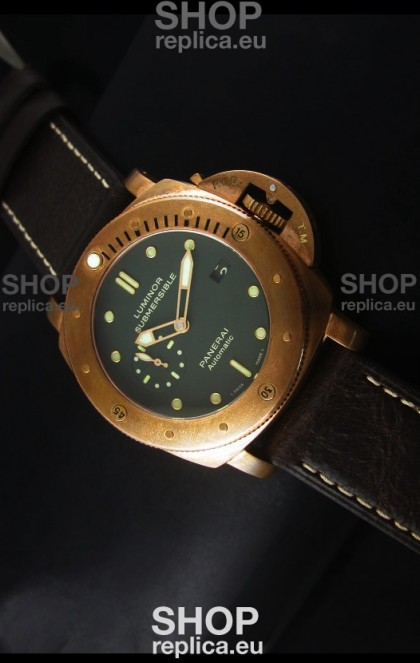 Panerai PAM382 Bronzo Replica Watch - Updated Ultimate Edition Version
