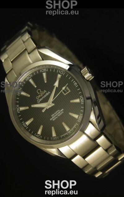 Omega Seamaster Aqua Terra Co-Axial Black Dial - 1:1 Ultimate Mirror Edition