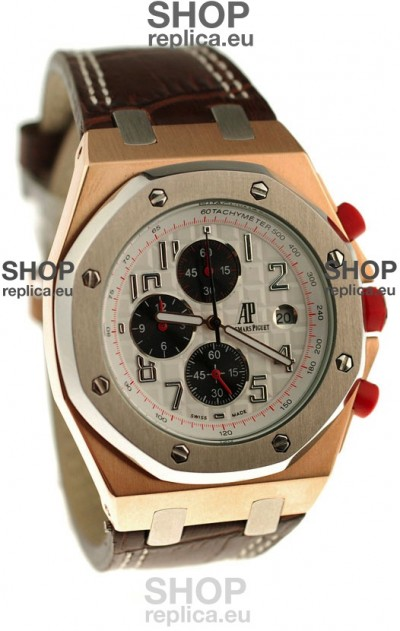 Audemars Piguet Royal Oak Offshore Limited Edition SingaporeGP 2008 Japanese Two Tone Gold Watch