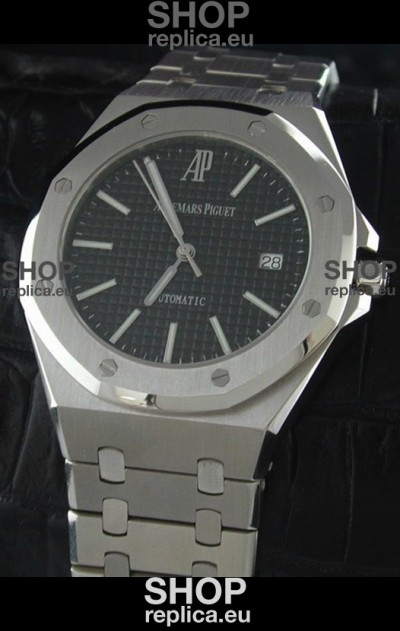 Audemars Piguet Royal Oak Watch Black Dial Swiss Watch