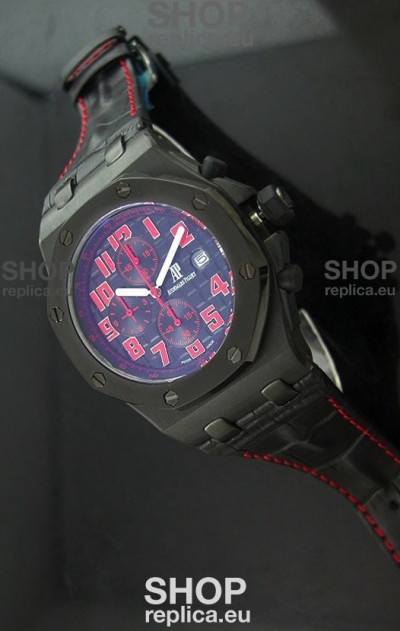 Swiss Quartz Las Vegas Strip Japanese Blue Watch