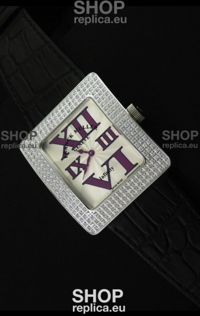 Franck Muller Geneve Infinity Japanese Special Watch in Big Roman Markers
