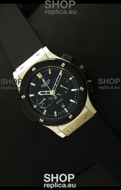 Hublot Big Bang Classic Fusion Chrono Japanese Watch Ceramic Bezel