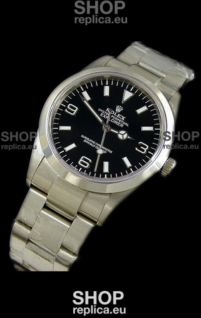 Rolex Explorer I Japanese Replica Steel Watch