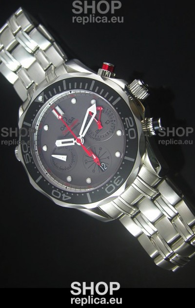 Omega Seamaster Professional Regatta Swiss Replica Watch Steel Strap