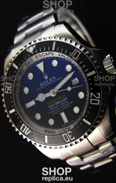 Rolex Sea-Dweller REF# 116660 Deep Sea Blue Swiss Replica 1:1 Mirror - Ultimate 904L Steel Watch