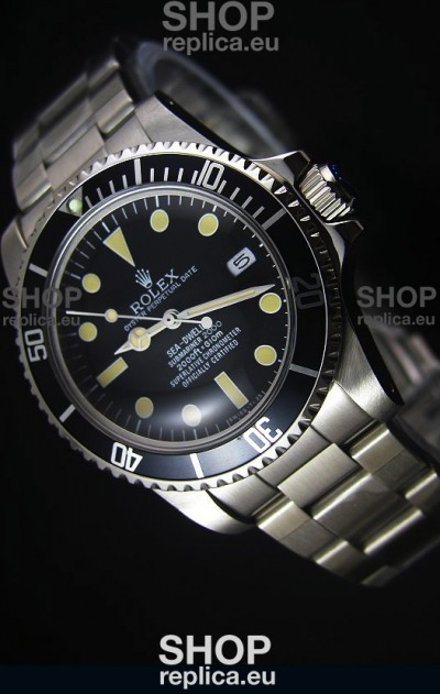 STEELMOVEMENT - Rolex Sea Dweller Submariner 2000 Vintage Styled Japanese Movement Watch